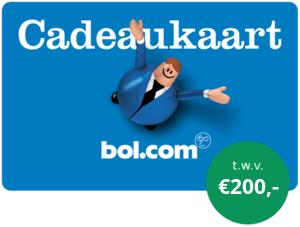 Gratis Bolcom Cadeaubon Twv 200 Bij 1 Jarig