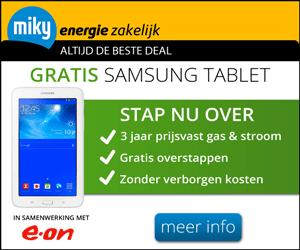 Eon Zakelijk Gratis Samsung Tablet Energie Aanbiedingen 2019