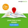 Ontvang tot €200,- cashback bij 1 jaar energie van EnergieDirect.nl