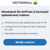 1 jaar energie van Vattenfall met AirPods 2 t.w.v. €179,-