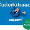 Gratis Bol.com cadeaubon t.w.v. €250,- bij 1 jaar Nuon