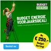 €250,- korting en gratis Wifi-versterker bij 1 jaar Budget Energie