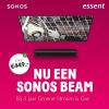 Gratis Sonos Beam t.w.v. €449,- bij 3 jaar energie van Essent