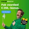 Energiedirect.nl Zotte Zomerdeal Weken: 1 jaar stroom en gas + tot €250,- korting