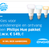 3 jaar energie van ENGIE + gratis Philips Hue verlichting