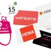 Kies zelf een cadeaukaart t.w.v. €250,- uit bij 3 jaar Essent