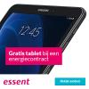 Gratis Samsung Galaxy Tab A + hoes t.w.v. €299,- bij Essent