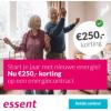 3-jarig energiecontract Essent + €250,- korting
