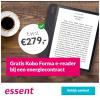 3-jarig energiecontract Essent + gratis Kobo e-reader