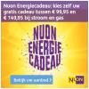 Kies zelf een welkomstcadeau uit t.w.v. maximaal €149,95 bij Nuon