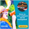 Oxxio Koningsdeal: Extra korting bij energiecontract