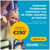 Gratis TicketMaster cadeaubon t.w.v. €250,- bij 3 jaar Oxxio