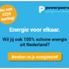 1 jaar groene energie van PowerPeers + tot €225,- korting