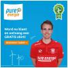 1 jaar Pure Energie + FC Twente shirt en €25,- fanshop cadeaubon