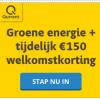3 jaar groene energie van Qurrent + €150,- korting