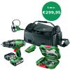 1 jaar Nuon + gratis Bosch gereedschapsset t.w.v. €299,95