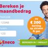 Exclusieve actie: 1 jaar Eneco + €200,- korting