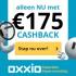 €175,- Cashback bij 3 jaar energie van Oxxio