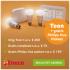 Energie van Eneco + Toon® Thermostaat en gratis Philips Hue verlichting